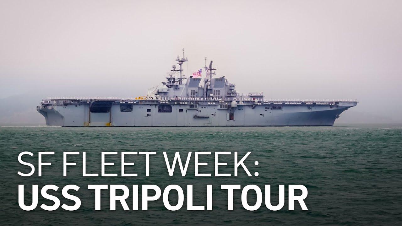 SF Fleet Week: A Tour of the Brand New USS Tripoli