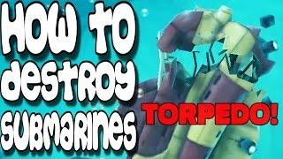 Hungry Shark Evolution - How To Destroy Submarines