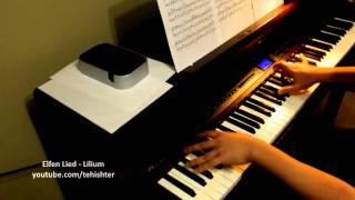 Elfen Lied OP - Lilium (Piano Transcription + Sheet Music)