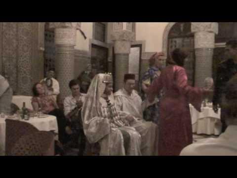 Al Fassia Restaurant in Fes, Morocco – Sep 2009
