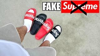 Fake Supreme Sandals Videos / Kansas City Comic Con