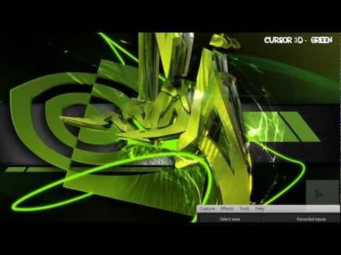 Descargar Cursor Efecto 3D - Verde para Windows 7/XP/8 y Vista