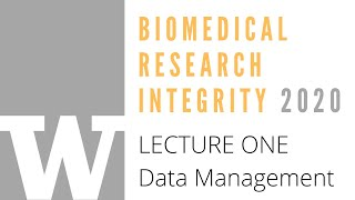 BRI 2020, Lecture One: Data Management with Dr. Anna Lauren Hoffman