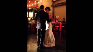 First Dance 'This Years Love' by David Gray
