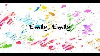 MIKA - Emily (lyrics)