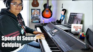 Coldplay- Speed Of Sound (Piano Cover)