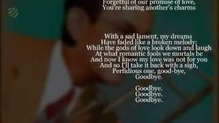 The Music Of Glenn Miller - Perfidia (Lyrics)