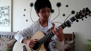 (J.S Bach) Minuet in Fingerstyle - Sungha Jung