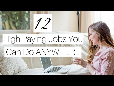 12 Highest Paying Work-at-Home Jobs of 2018