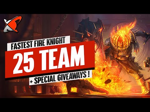 BUILDING THE FASTEST FK 25 TEAM IN THE GAME! | BGE's Guides | RAID: Shadow Legends