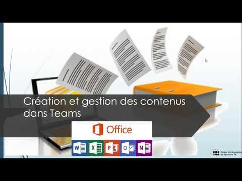 Webinar 06: Améliorez votre Productivité avec Teams