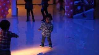 Juli Bailando el chu chu aaa
