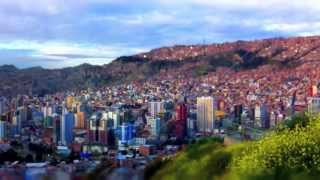 An Asian girl backpacking South America - song for a traveller