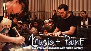 Music + Paint - Live Improvised Session with Austin Wintory.