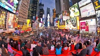 Best of Times Square Time Lapse Videos, Manhattan, New York City