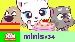 Angela y su tarta rosa - Talking Tom and Friends Minis ep. 34