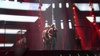 Eric Saade (Sweden) - Rehearsal Impression and Backstage - 2011 Eurovision Song Contest