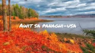 Awit sa panaghi-usa lyrics and chords