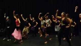 Balkan Fusion Dance warming up