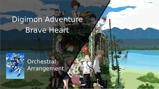 【HQ】Digimon Adventure Brave Heart | Orchestra Version