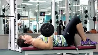 Tricep Toning Exercises With Barbells : Fitness & Exercise Routines