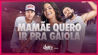 Mamãe Quero Ir Pra Gaiola - MC Maneirinho   FitDance TV (Coreografia) Dance Video