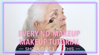"""No-Makeup"" Makeup Feat. Lili Hayes"