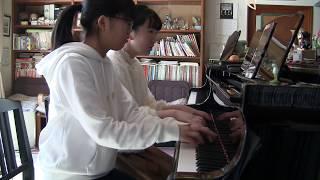 """【ぬゆり】 """"フラジール"""" ピアノ連弾してみた (イントロ&ソロ忠実再現) Piano 4 hands cover 【GUMI】"""