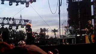 Coheed & Cambria - Welcome Home (Feat USC Marching Band)  Live @ Coachella 2010