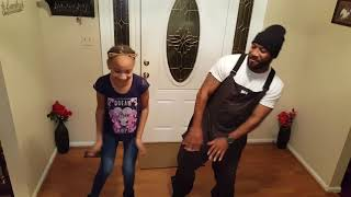 #plies #rock Nala and Dad... Coach Coop dancing
