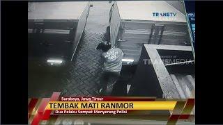 Aksi Terekam CCTV, Polisi Tembak Mati Dua Pencuri