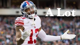 Odell Beckham jr mix || A Lot || 21 Savage