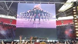 Beyoncé - ''Run the World'' (live in Wembley, London)