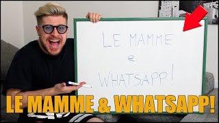LE MAMME e WHATSAPP!