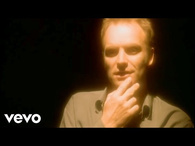 "Vídeo oficial de la canción ""Fields Of Gold"" de Sting."