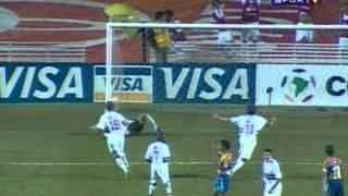 São Paulo 4x0 Tigres-MEX Libertadores 2005 Quartas