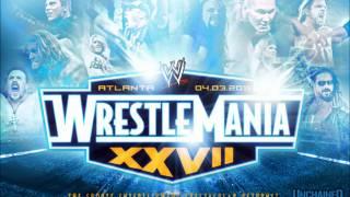 WWE Wrestlemania XXVII 27 Official Theme (#1) -- Tinie Tempah ft. Eric Turner - Written in the Stars
