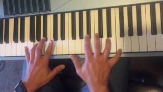 Purple Rain by Prince (piano tutorial)