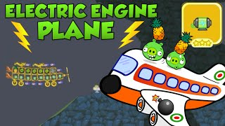 ELECTRIC ENGNE PLANE! - Bad Piggies Inventions