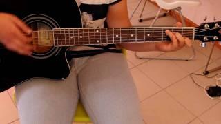 """""""Pontes entre nós"""" Pedro Abrunhosa, versão Joana Morais, guitar cover by AANNAA.AVI"""