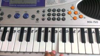 Sun Raha Hai Na Tu    Casio Tutorial By Harshit raj (HSR)
