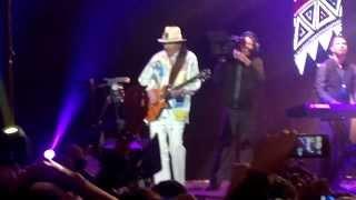 Santana en Arena VFG Ft; Miguel - Maria Maria
