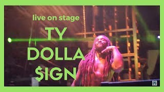 Ty Dolla $ign - Campaign (ft. Future) (HD Live @ Fresh Island, Croatia 2016) FIRST LIVE PERFORMANCE