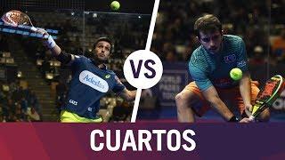 Resumen Cuartos de Final Bela/Lima VS Bergamini/Campagnolo | Estrella Damm Catalunya Master