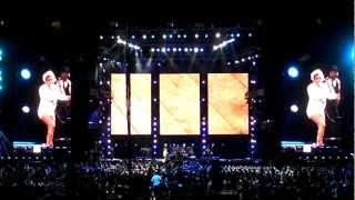 """Keyshia Cole """"Last Night"""" (Diddy's song) - EMF 2012 Live"""