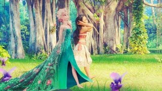 Vision im looking for - Moana & Elsa