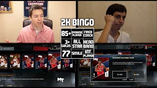 2K BINGO! NBA 2K16 MY TEAM w/ LOSTNUNBOUND