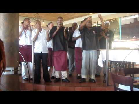 Singing Wait Staff, Cape of Good Hope, South Africa