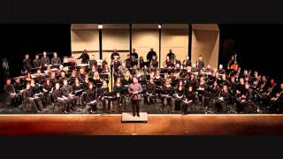 GEORGE ETHERIDGE CONDUCTS COPLAND'S VARIATIONS ON A SHAKER MELODY ~ CAPITAL WIND SYMPHONY