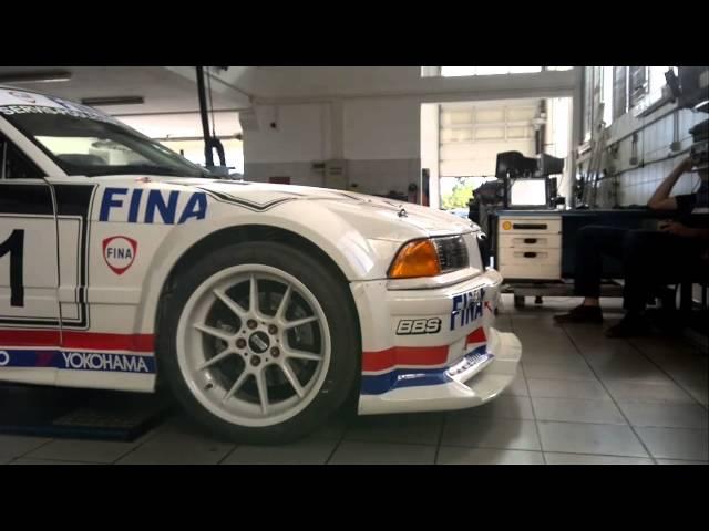 Ivo Znaor BMW M3 GTR